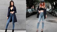 8 maneras de usar blazers con un bralette de bajo sin verse informal