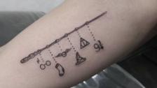 11 tatuajes que vas a querer si eres fan de Harry Potter (magia en tu piel)