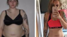 Mujer bajó 44 kilos luego de ser plantada por su novio (solo necesitó levantar pesas)