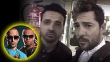 El día que David Bisbal y Luis Fonsi imitaron a Wisin y Yandel