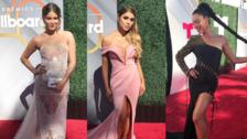 La alfombra roja de los Premios Billboard de la Música Latina