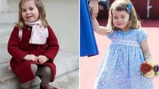 La princesa Carlota celebra su cumpleaños número 3