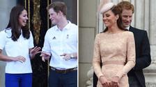 11 fotos que muestran el cariño que hay entre Kate Middleton y el Príncipe Harry