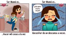 14 divertidas y sinceras ilustraciones que resumen lo que es ser mamá primeriza