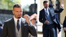 Royal Wedding: David Bekcham, el verdadero protagonista de la boda del Príncipe Harry