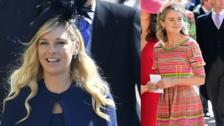 Príncipe Harry invitó a sus Ex's a su boda, y así lucieron en la ceremonia