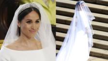 Royal Wedding: Meghan Markle y su sencillo vestido, firmado por Givenchy