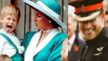 El gesto característico del Príncipe Harry en su boda recordó su niñez