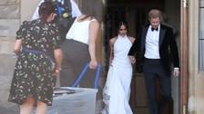 Pidieron pizzas en la boda del Príncipe Harry y Meghan Markle