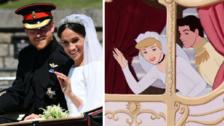 Boda Real de Meghan y Harry fue idéntica a la de Cenicienta