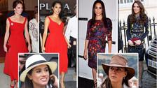 16 veces en las que Meghan Markle se inspiró en el estilo de Kate Middleton