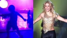 Sasha, hijo de Shakira y Piqué sorprende imitando los pasos de baile de su mamá