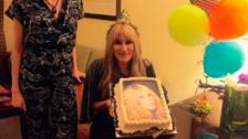 Ashley recordó el 'tortazo' que le dio a su hermana por su cumpleaños