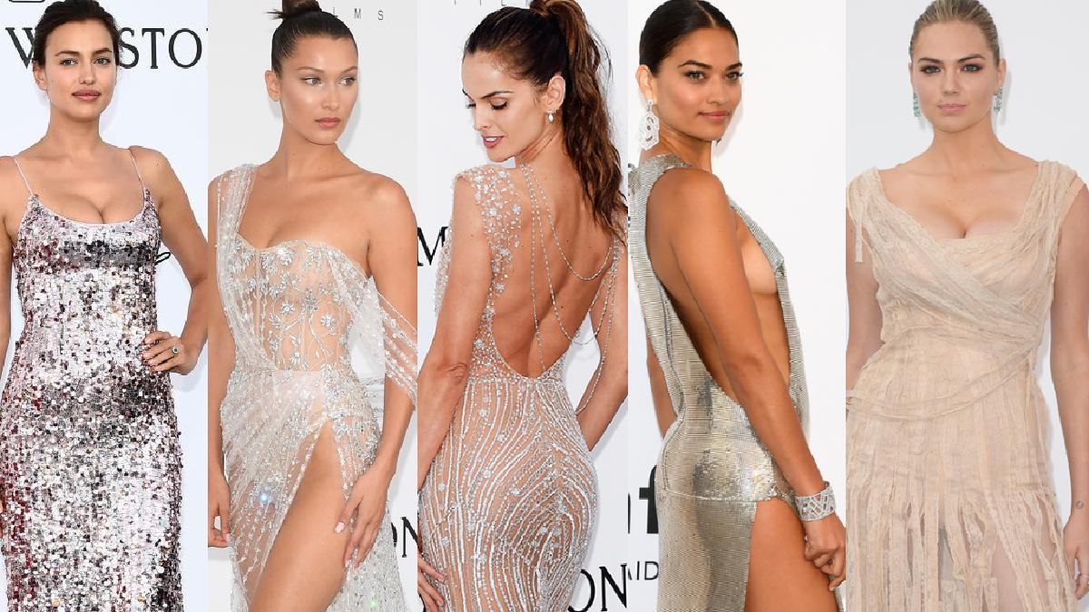 amfAR en Cannes: Las modelos más hermosas y sexys del mundo en la alfombra roja